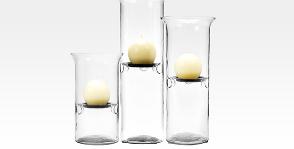 <strong>20</strong> подсвечников типа свеча в стакане