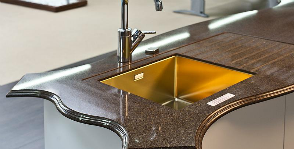 <strong>12</strong>  кухонных столешниц – материалы