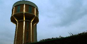 Бельгия: дом в водокачке