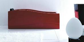 <strong>13</strong> ванн в оттенках красного