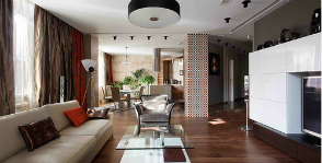 4-комнатная квартира в монолитно-кирпичном доме: проект Сергея Ожогина