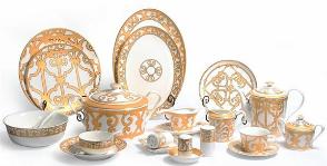 <strong>17</strong> примеров посуды из фарфора