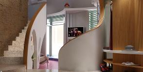 Двушка с кабинетом на втором этаже: проект Сергея Собанина