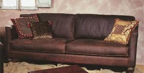 <strong>25</strong> коричневых кожаных диванов