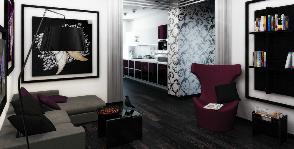 4-комнатная квартира с 4 спальнями: проект Елены Ромашковой