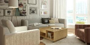 Трешка в скандинавском стиле: проект дизайнерской студии «Градиз»