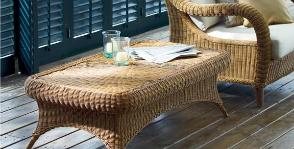 <strong>14</strong> примеров плетеной мебели