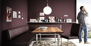 Чем украсить столовую зону:<br>10 свежих идей