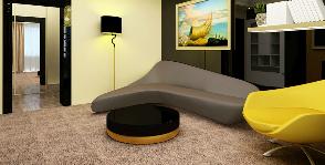Двухкомнатная квартира в кирпичном доме: проект Анны Владимировой