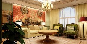 4-комнатная квартира в английском стиле: проект Анны Владимировой