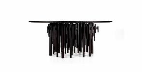 <strong>24</strong> необычных кухонных стола из стекла