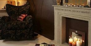 6 вариантов декора фальш-камина