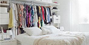 <strong>13</strong> идей для хранения в съемной квартире без платяного шкафа