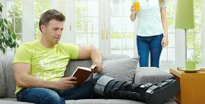 Как облегчить себе жизнь дома, если вы сломали ногу