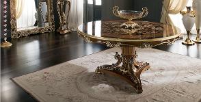 <strong>22</strong> обеденных стола с богатым декором
