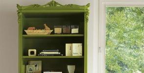 <strong>13</strong> зеленых шкафов для книг