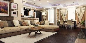 Объединение двух квартир: проект студии дизайна «Мальгрим»