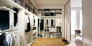 Как рассчитать площадь гардеробной?