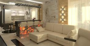 Квартира-студия в лаконичном стиле: проект Полины Осоченко