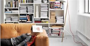 Как разместить коллекцию книг в маленькой квартире