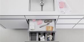 Как правильно организовать место под мойкой?