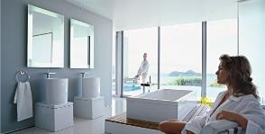 Как выбрать и установить зеркало в ванную комнату