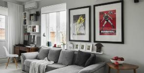 8 советов, как декорировать интерьер рекламными постерами