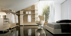 3 нестандартных места для размещения гардеробной