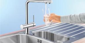 Как купить смеситель с функцией фильтрации воды