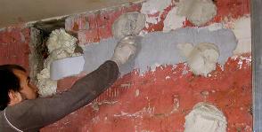 Технология облицовки стен гипсокартоном на «гипсовых лепешках»