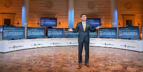 Samsung представил новые телевизоры в Большом театре