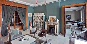Творческая студия во дворце на Английской набережной: проект братьев Жилиных