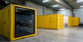 Офис в контейнере