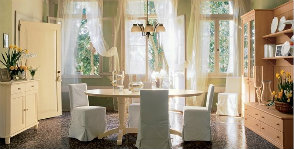 Общее освещение столовой