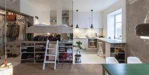 Квартира 36 кв. м в Стокгольме