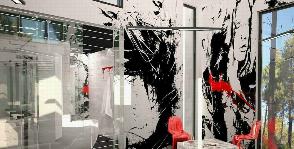 «Проект 6,7» – ванная комната в стиле арт от Михаила Ченцова