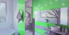 Ванная комната улучшенной эргономики: проект дизайнера Инны Шаповаловой