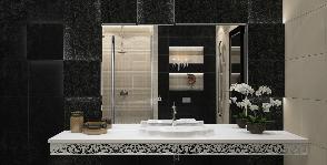 Ванная комната для счастливых романтиков: проект Екатерины Юхановой