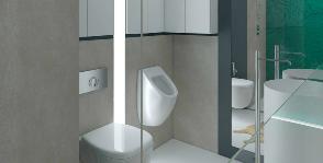 Готовность к трансформации: проект ванной комнаты дизайнера Нины Воронянской