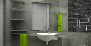 Брутальная ванная комната: дизайнер Софья Пайманова