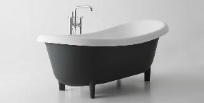 Романтика 1950-х в ванной Antoniolupi