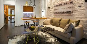 Остроумная однушка: 40 кв. м. эргономики и дизайна