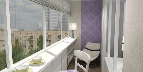 Интерьер маленького балкона: дизайнер Мария Куреннова