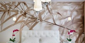 Свет в спальне: дизайнер Ольга Кулекина