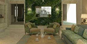 Все оттенки зелени: как создать интерьер в стиле эко-классики?