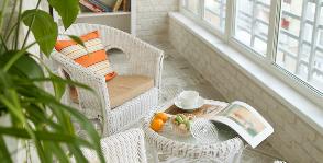 Бюджетная роскошь: небольшой балкон на французский манер