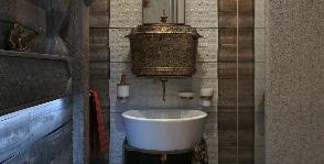 Как необычно оформить ванную комнату: уроки русского этно