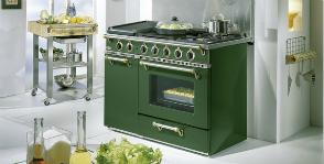 <strong>18</strong> кухонных плит в стиле ретро