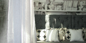 Комната для чтения в «чердачном» стиле: дизайнер Лилия Троегубова