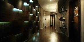 Квартира со встроенной светодиодной подсветкой: дизайнер Наталья Дышлова
